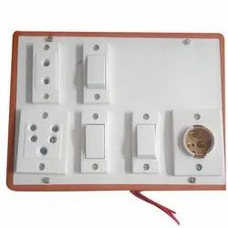 Pvc Modular Switch Board, 4