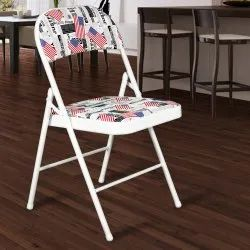 Folding Chair Black Designer Foldable Chairs, For Home