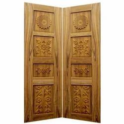 Teak Wood Double Door