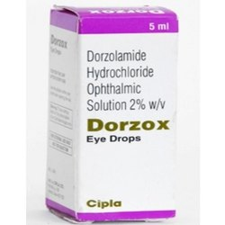 Dorzolamide Hydrochloride Ophthalmic Solution