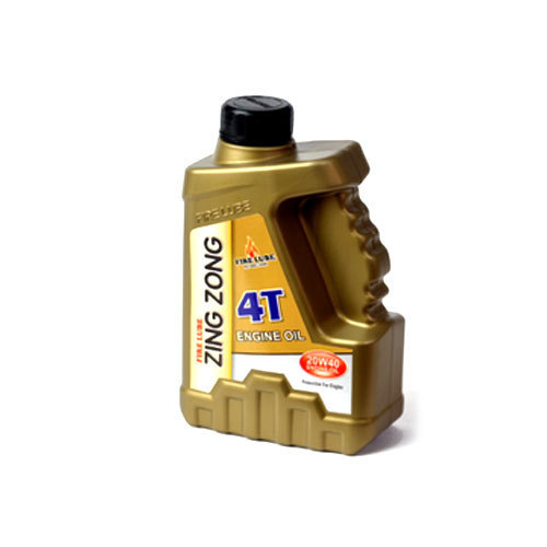 Grade: API SM Fire Lube Zing Zong 4T Engine Oil