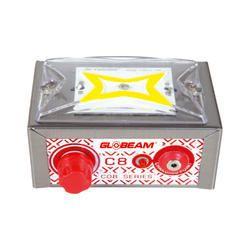 Metal Globeam C8 LED Emergency Light, Battery Type: Lead-Acid