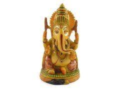 Handmade Statue Resin Idol of Ganesha Hand Painted