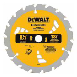 Small Diameter Construction Saw Blades