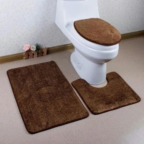 Strange Bathroom Rug And Toilet Seat Cover Set Gmtry Best Dining Table And Chair Ideas Images Gmtryco