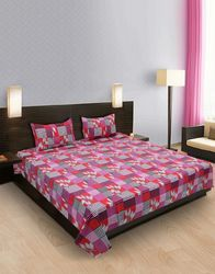 Trendy Printed Cotton Bedsheet