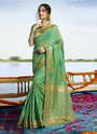 Heavy Wedding Wear Silk Saree