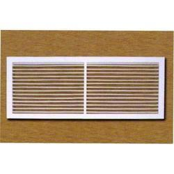 White FRP Single Deflection Grille