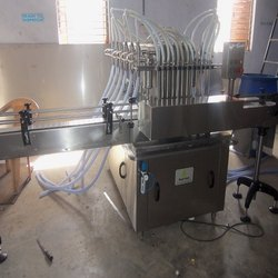 Automatic Sanitizer Bottle Filling Machine
