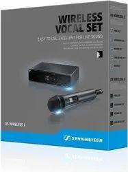 Sennheiser Wireles Hand Held Vocal Microphone Set.