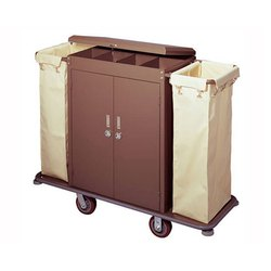 House Keeping Trolley With Door