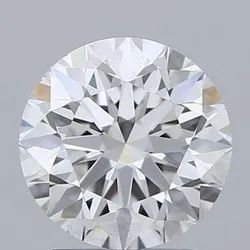 2.01ct Lab Grown Diamond CVD E VS2 Round Brilliant Cut IGI Certified Stone