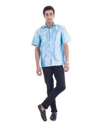 Scot Wilson Mens Silk Shirt