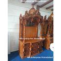 Teak Wooden Temple