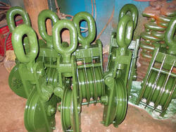 Chamunda Mild Steel Railway Vertical Rope Wheel