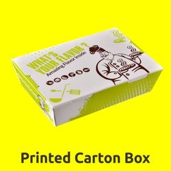 Printed Carton Box Printing Services