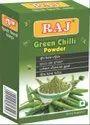 Raj Green Chilli Powder, Packaging Size: Rs.10