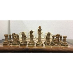 Elephant Base camel bone staunton Chess Pieces