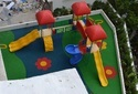 Outdoor Children Play Ground Multi Play Station & Equipment