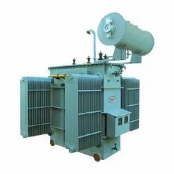 8MVA Three Phase Oil Cooled Power Transformer