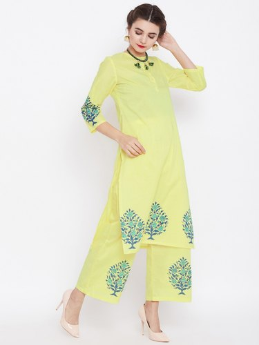 Full Sleeve Ladies Cotton Kurti