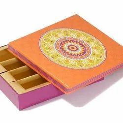 Rangoli 1 kg Sweet Packaging Box