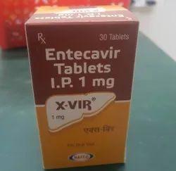 X-VIR Entecavir Tablets 1 Mg