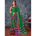 Fashionable Cotton Silk Saree