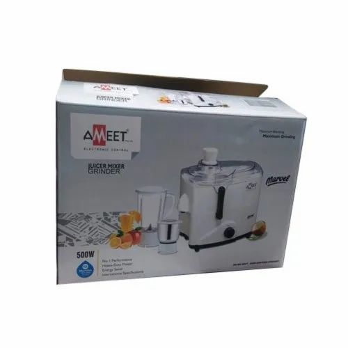 Duplex Rectangle Juicer Packaging Box