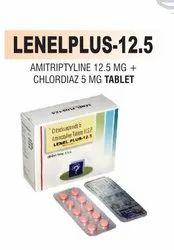 Amitriptyline 12.5 Mg & Chlordiaz 5 Mg Tablet