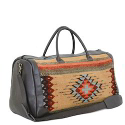 Leather Multicolor Handmade Luggage Bags