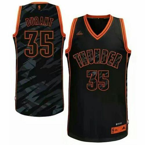 ce0b5d8ec1ed Black And Orange Two Side Sublimation Basketball Kit