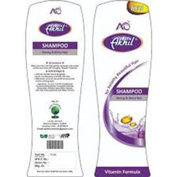 Aim Technologies Paper Shampoo Sticker Label, For Packaging, Packaging Type: Roll