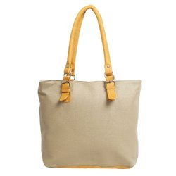Ladies Plain Synthetic Leather Shoulder Bag