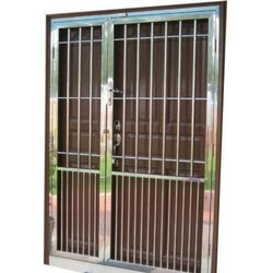 Stainless Steel 202 Window, For Home