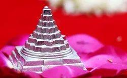 Aslomal Vijay Kumar Silver Parad Meru Shri Shree Yantra 150 Gm