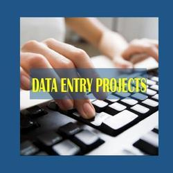 Cargo Data Entry Projects