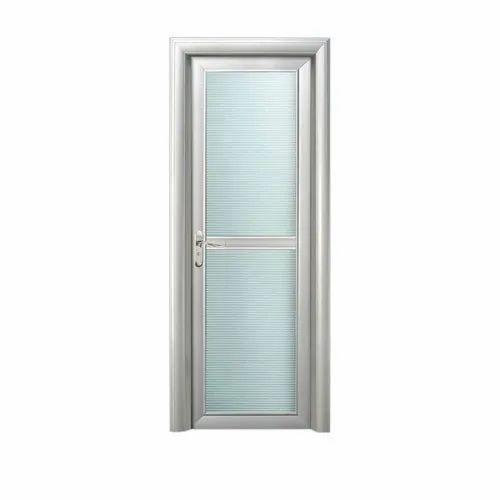 Aluminum Bathroom Door