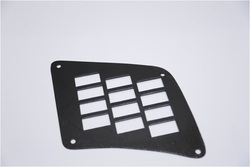 Black Finish: Frame Switch Plates, Module Size: 16