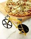 Stainless Steel Non-Stick Cutting Wheels Display Stand Bicycle Pizza Cutter