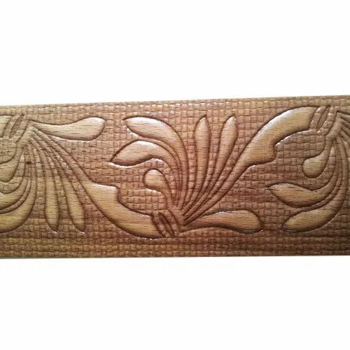 Pioneer Engraving Steam Beech Wooden Carving, Thickness: 8 mm