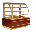 Bombay Steel Wooden, Glass Food Display Counter