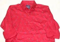 Aadhar Full Mens Cotton Casual Shirt