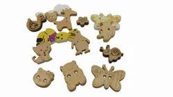Wooden Buttons - Craft Buttons
