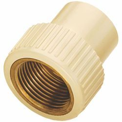 CPVC Brass Female Threaded Adapter