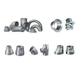 Silver Stainless Steel Fittings for Gas And Structure Pipe