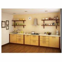 Straight Modular Kitchen