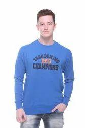 Men Round Neck Sweatshirt