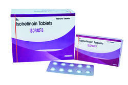 Isopad Finished Product Isotretinoin Tablets 5mg, Packaging Size: 10x1x10 Tablets