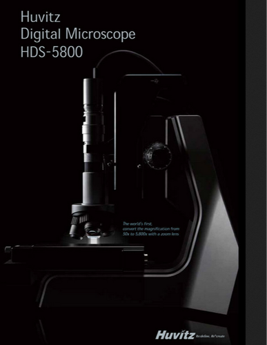 3d Profiler Model HDS 5800